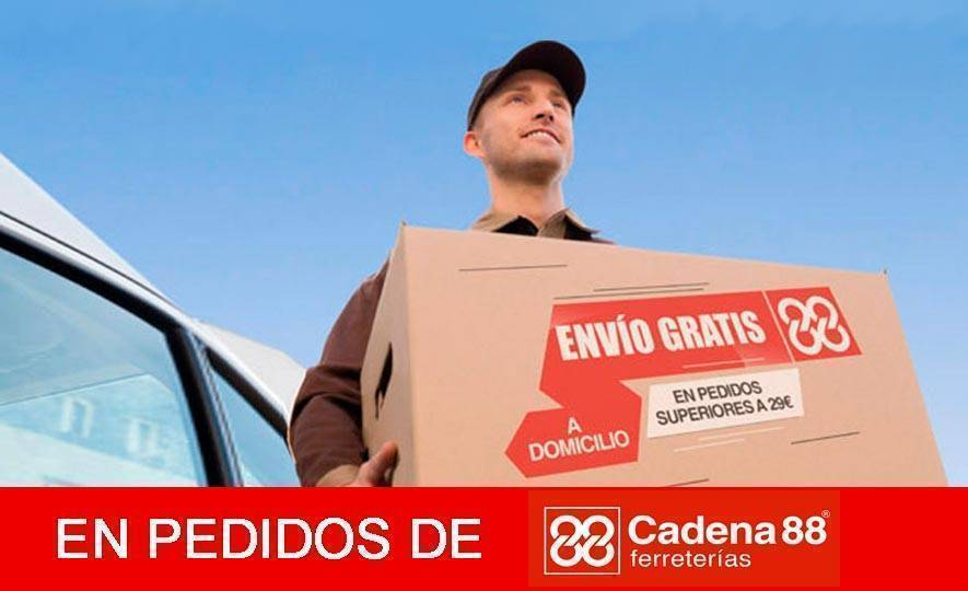 Portes gratis a partir de 29€ en Cadena 88